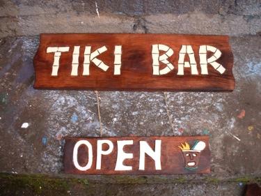 Tiki Sign Tiki Bar Open 24 Tiki Bar Decor