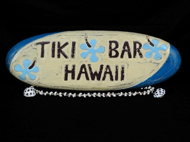 Surf Signs Tiki Bar Hawaii Surf Sign 20 Surfing Decor