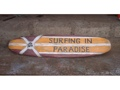 Surfing In Paradise Surf Sign 39 Beach Decor