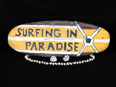 Surfing In Paradise Surf Sign 20 Surfing Decor