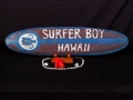 Surfer Boy Hawaii Surf Sign 39 Beach Surf Decor