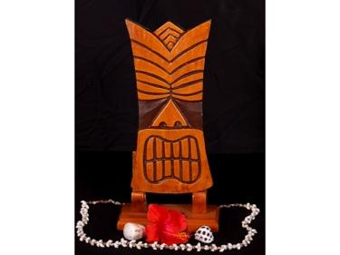 Kapu Tiki Mask 12 Pop Art Modern Tiki Decor