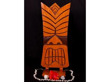 Kapu Tiki Mask 20 Pop Art Modern Tiki Decor