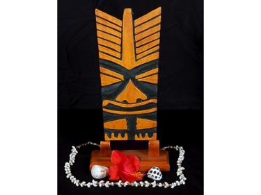 Hacho Tiki Mask 12 Pop Art Modern Tiki Decor