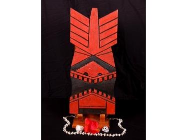 Kukona Tiki Mask 20 Pop Art Modern Tiki Decor