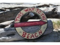 This Way To The Beach Nautical Sign 16 Beach Decor