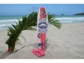 Seal Beach Surf Sign W Fin 40 Surfing Decor