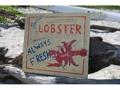 Lobster Always Fresh Vintage Gourmet Sign 14 Restaurant Decor