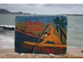 Canoe Club Kalapana Hawaii Vintage Outrigger Canoe Sign 16 Made In Hawaii