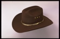 Brown Faux Felt Cowboy Hat *Elastic