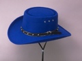 Royal Faux Felt Gamlber Hats *Elastic
