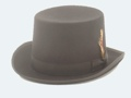 Wool Felt Top Hat BLACK