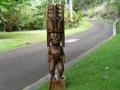 Tiki Akua 39 Inches Bishop Museum Outdoor Garden Decor