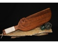 Polynesian Tiki War Club 24 Monkey Pod Wood Hawaiian Art