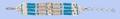 Genuine Bone Bracelet - Turquoise z