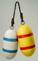 10 Inch x 4.5 Inch Wooden Nautical Buoy