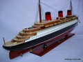 Normandie Painted OMH Handcrafted Model