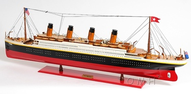 TITANIC PAINTED XL OMH Handcrafted Model