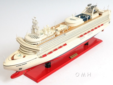 Diamond Princess OMH Handcrafted Model