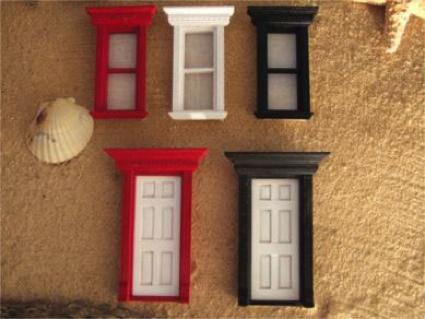 Custom Doors - RED