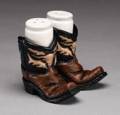 Salt & Pepper Shaker Boots 3 1/2 x 3 1/2