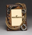 Picture Frame - Hat Rope & Horseshoe 7 x 9 (4 x 6 photo)