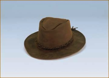 Suede Outback Hat