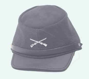 The Yankee - Blue Suede Cap