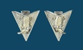Silver Boot Austrial Crystal Collar Tips