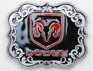 Dodge Ram Head Belt Buckle 3 x 2-1/4