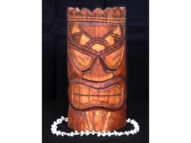 Carved Tiki Mask 12 Vegas Baby Tiki Charm