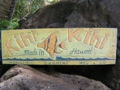 Vintage Hawaii Kihi Kihi Tiki Bar Sign 30 Island Decor