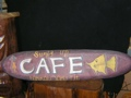 Cafe Lanikai Oahu Vintage Tiki Sign 36 Made In Hawaii