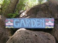 Rustic Hawaii Garden Tiki Bar Sign 39 Island Decor
