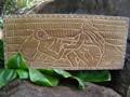 The Maker Of Kings: Ke'Eaumoku King Kamehameha Hand Carved Storyboard