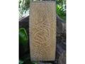 The Lava Flow King Kamehameha Hand Carved Storyboard