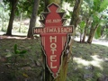 Haleiwa Beach Hotel Vintage Tiki Sign 24 Made In Hawaii