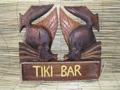 Kissy Fish Tiki Bar Sign 15Nautical Tiki Bar Dcor