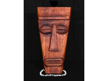 Papua Mask 12 ? Mango Wood Hawaiian Gifts