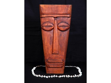 Papua Mask 16 Mango Wood Tiki Bar