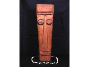 Papua Mask 24 Mango Wood Tiki Decor