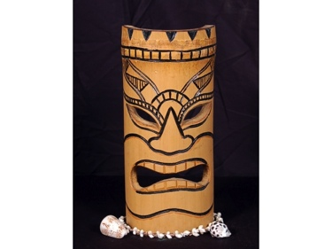Bamboo Tiki Mask 12 Lucky Tiki Mask