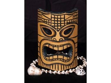 Bamboo Tiki Mask 8 Love Tiki Mask
