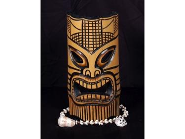 Bamboo Tiki Mask 12 Love Tiki Mask
