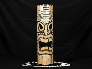 Bamboo Tiki Mask 20 Love Tiki Mask