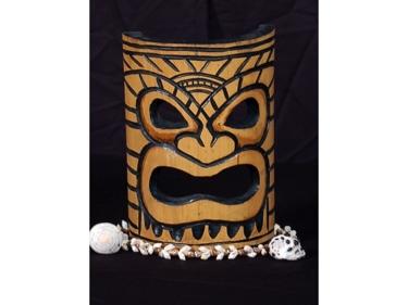 Bamboo Tiki Mask 8 Big Kahuna Tiki Mask