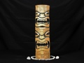 Bamboo Double Headed Mask 20 Island Decor