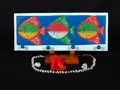 Colorful Fish Hanger 20 Coastal Decor
