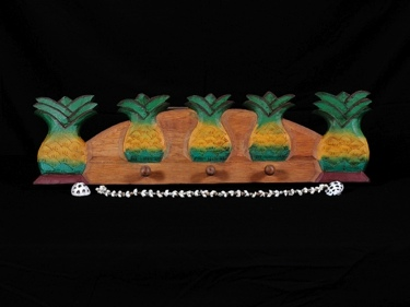 Island Pineapple Hanger 24 Tropical Decor