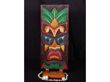 Tiki Shield 20 Tiki Mask Wall Plaque Decor
